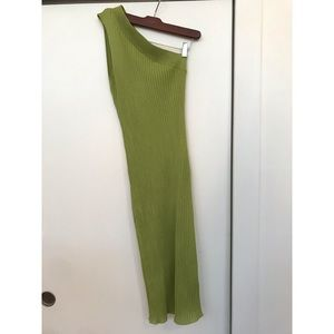 Free People Lime Green Dress